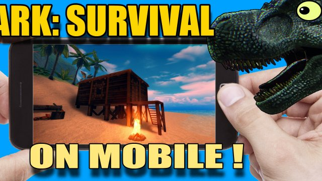 ARK ON MOBILE! Cell Phones, Tablets on ANDROID (ark survival island evolve)