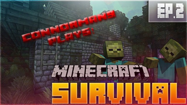 "Minecraft Survival Lets Play Ep.2 ""The Art Of Death!"""