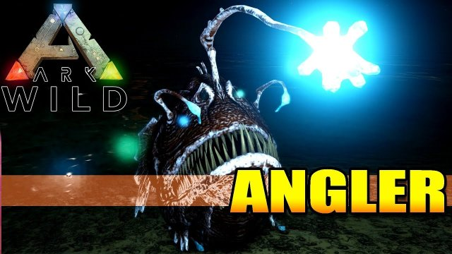 ARK WILD - ANGLER FISH - The Pearl Farming Torch - Creature Spotlight Dinosaur Dossier (A to Z)