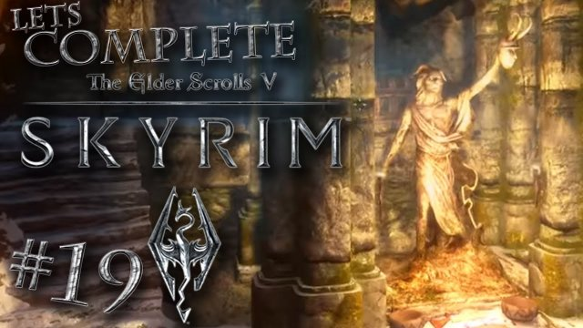 Let's Complete Skyrim Season 2 - #19 - Goodbye Dog!