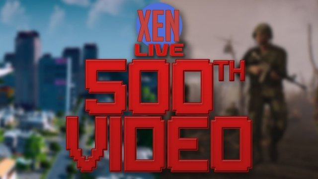 500th Video Live Stream! W/Farmer Xed and Homeless Xek!