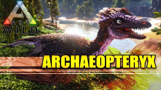 ARK: WILD - ARCHAEOPTERYX - The Living GLIDER and SAP Farmer