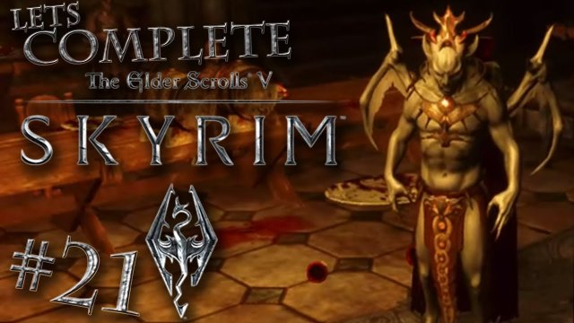 Let's Complete Skyrim Season 2 - #21 - I'm A Vampire Lord!