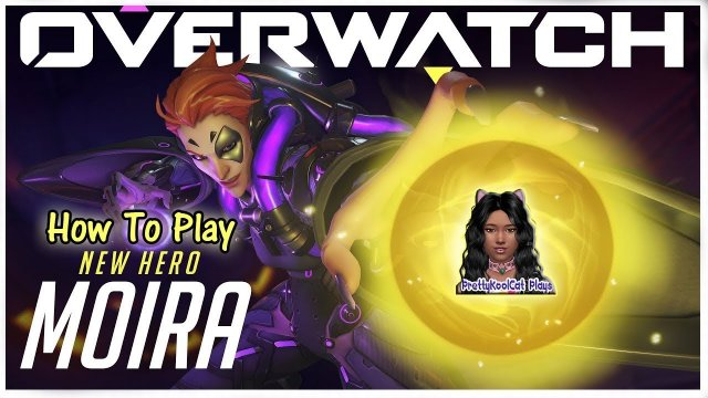 Overwatch -  How To Play New Hero Moira (Let's Play)