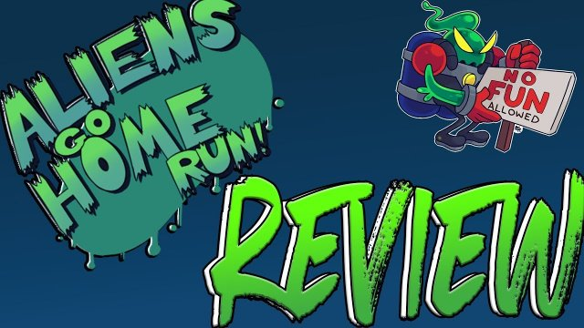 THE ONLY GAME THAT COMBINES BASEBALL,ALIENS AND BRICK BREAKING ALIENS GO HOME RUN REVIEW