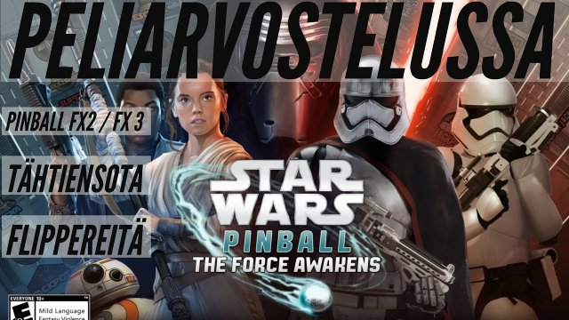 Let's check Pinball FX3 The Force Awakens DLC