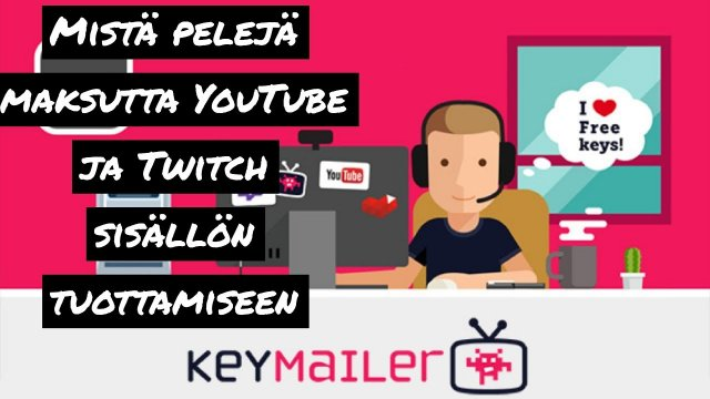 Where to get sponsored games to your YouTube channel (keymailer.co tutorial)