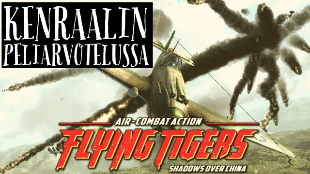 Review: Flying Tigers: Shadows over China (Arcade WW2 flight sim from Ace Maddox)