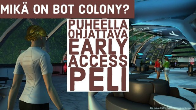My thought for Bot Colony Steam Early Access game