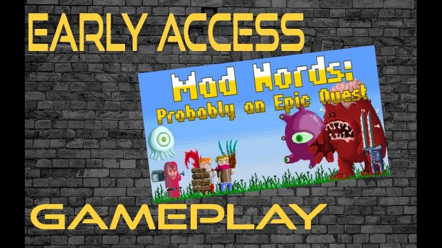Lets play: Early Access Mad Nords: Probably an Epic Quest (FUN old-school parody role-playing game)