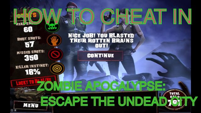 How to cheat Zombie Apocalypse: Escape The Undead City Trainer / Cheat