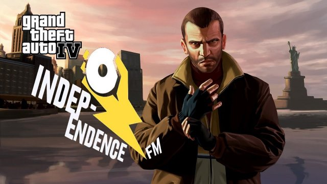 Grand Theft Auto 4 - Independence fm with Custom music from Positionmusic