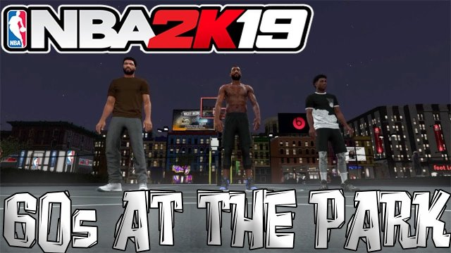NBA 2K19 PARK | BEATING 90S WITH 70 OVERALLS