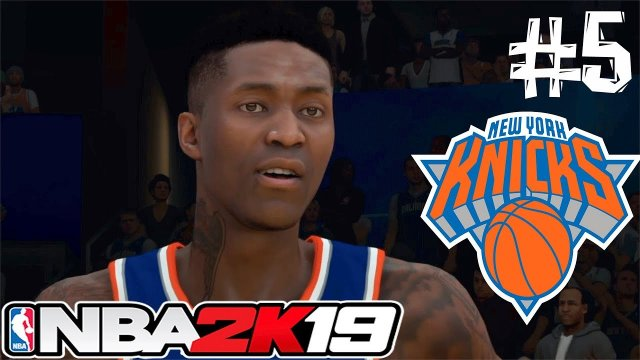 2k19 MYGM NEW YORK KNICKS REBUILD #5 | WE CAN'T SCORE