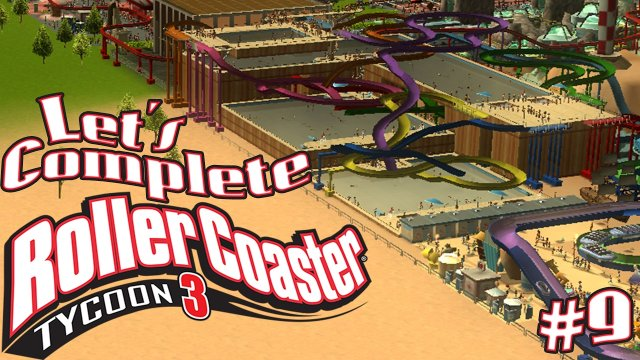 Let's Complete RollerCoaster Tycoon 3 - #9 - Colourful Spaghetti