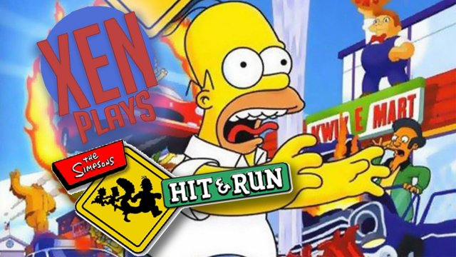 The Simpsons Hit And Run - Xen Plays