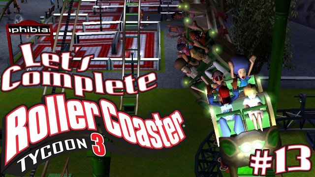 Let's Complete RollerCoaster Tycoon 3 - #13 - Wild Mouse!