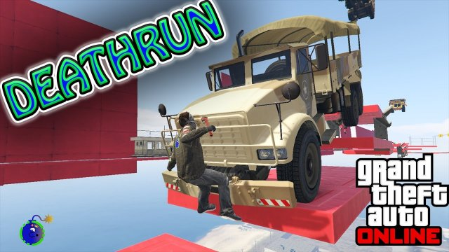 GTA 5 | Glass Wall DeathRun!!!!! (Grand Theft Auto V Funny Moments)