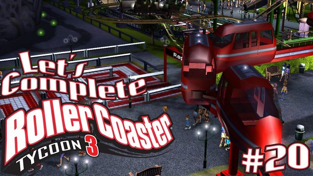 Let's Complete RollerCoaster Tycoon 3 - #20 - Monorail!