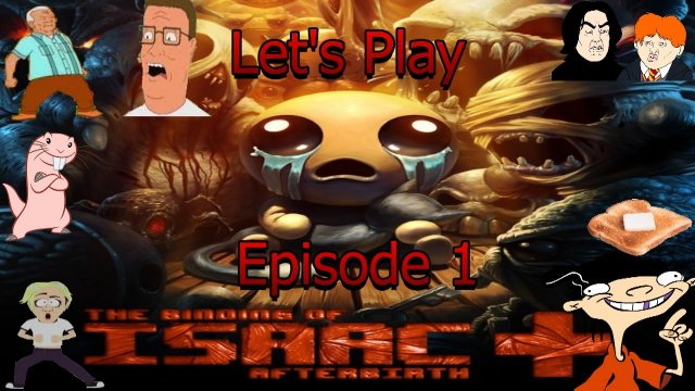 Let's Play The Binding of Isaac: Afterbirth + (SWITCH) - Episode 1 - Basment 1 & 2