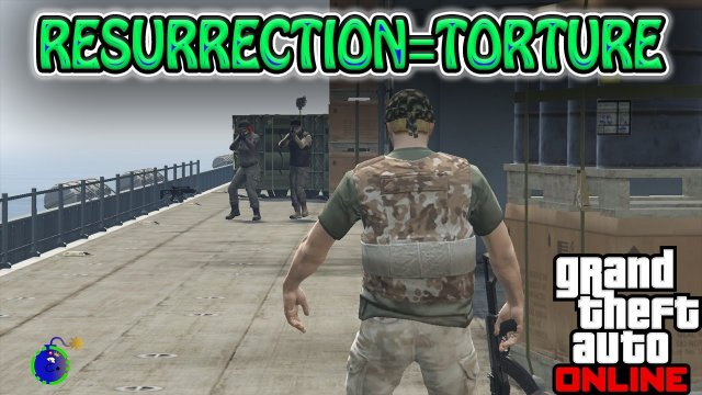Torturous Resurrection Machine | Grand Theft Auto V Funny Momments