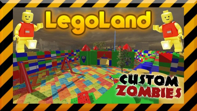 LegoLand Zombies - CoD Black Ops 3 Custom Zombies W/Xen and Xek
