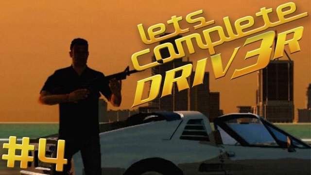 Let's Complete DRIV3R - #4 - Everything In This Is Bad!