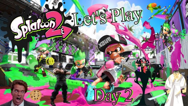 Let's Play Splatoon 2 Global Testfire Demo - Day 2 - The Master of Darkness
