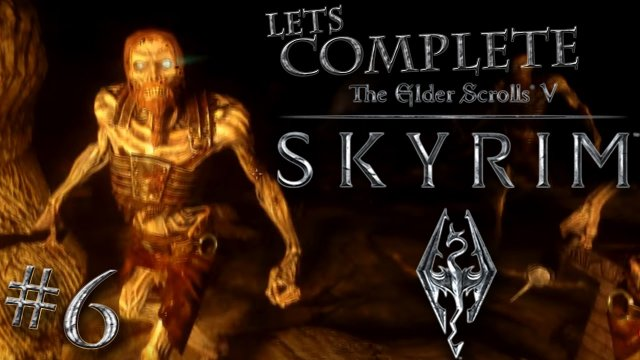 Let's Complete Skyrim Season 2 - #6 - No Boat, Swim Instead!