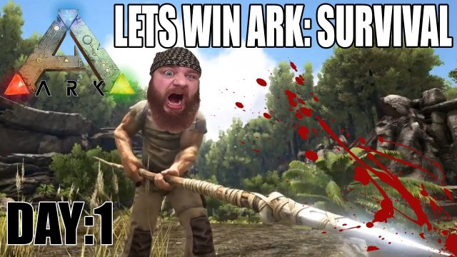 Day:1 Lets Win Ark:Survival Evolved. The hidden lake oasis